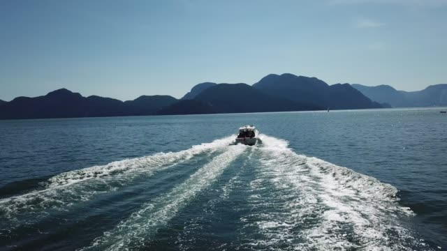 there's no better escape - speed boat stock videos & royalty-free footage