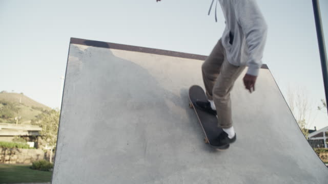 there's no greater feeling than overcoming something that seemed impossible - half pipe stock videos & royalty-free footage