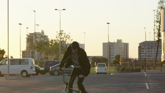 there's nothing he'd rather be doing - freestyle bmx stock videos and b-roll footage