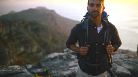 there's nothing like an early morning hike - beard stock videos & royalty-free footage