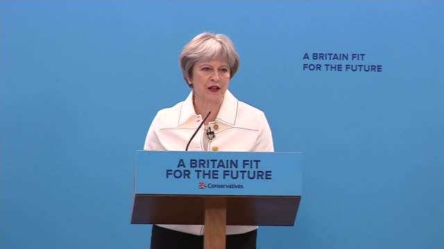 Theresa May addresses Conservative Party Spring Forum ENGLAND London INT Brandon Lewis MP introduction SOT Theresa May MP speech SOT