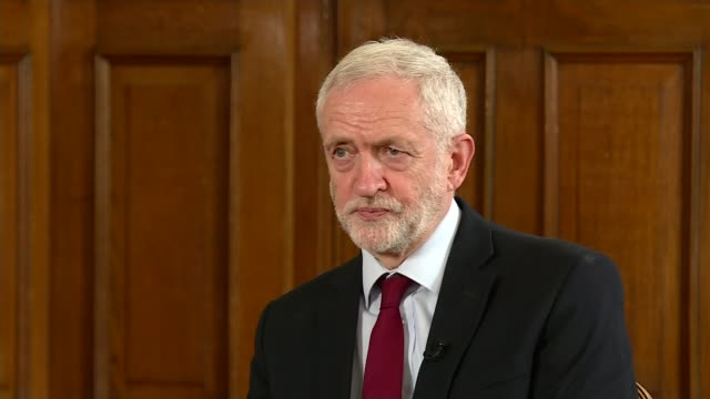 theresa may announces she will resign as conservative party leader on june 7th 2019 england london westminster house of commons int jeremy corbyn mp... - jeremy corbyn stock videos and b-roll footage