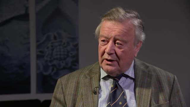 Theresa May announces she will resign as Conservative Party leader on June 7th 2019 ENGLAND London Westminster INT Ken Clarke MP interview SOT [re...