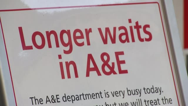 Theresa May apologises for cancelled operations as new figures reveal strain on NHS T03011801 / 312018 Addenbrooke's Hospital EXT 'Longer Waits in...