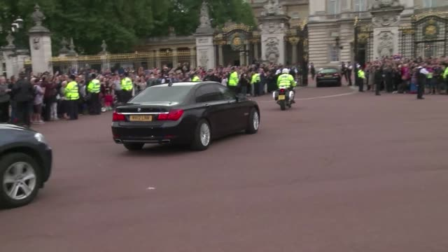 Theresa May arrived at Buckingham Palace on Wednesday to meet Queen Elizabeth II and be officially named Britain's prime minister following the...