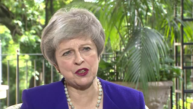 Theresa May attends G20 Summit / Brexit debate ARGENTINA Theresa May MP interview re Brexit as she attends G20 Summit Buenos Aires EXT Theresa May MP...