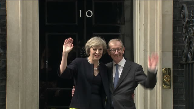 theresa may became britain's new prime minister on wednesday accepting an invitation to govern from queen elizabeth ii after the resignation of david... - theresa may stock videos & royalty-free footage