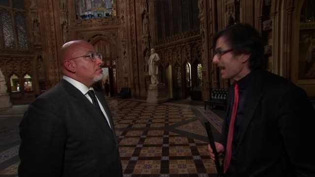 Theresa May completes cabinet reshuffle Nadhim Zahawi MP interview SOT