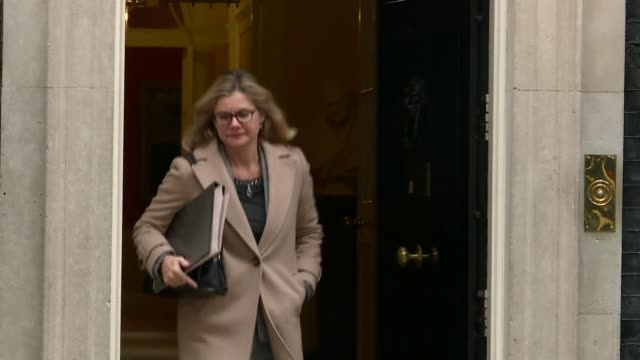Theresa May defends government handling of NHS / Cabinet reshuffle speculation Justice Greening MP along as leaving Number Ten Andrea Leadsom MP...