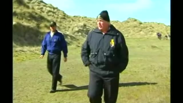 theresa may dismisses posibility of discussing women's rights with donald trump t29050628 aberdeenshire donald trump playing golf in sand dunes... - dune buggy stock videos and b-roll footage