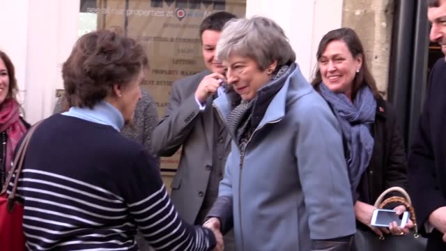 theresa may in salisbury high street on the first anniversary of the novichok attack on sergei skripal and his daughter yulia theresa may also visits... - sergei skripal stock videos and b-roll footage