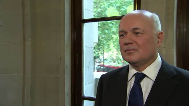 Theresa May insists government is driven from the front over Brexit Westminster Iain Duncan Smith interview SOT