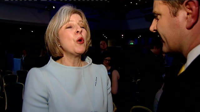 Theresa May MP interview SOT We have always been clear that this was going to be a fight William Hague MP interview SOT I don't think that will be...