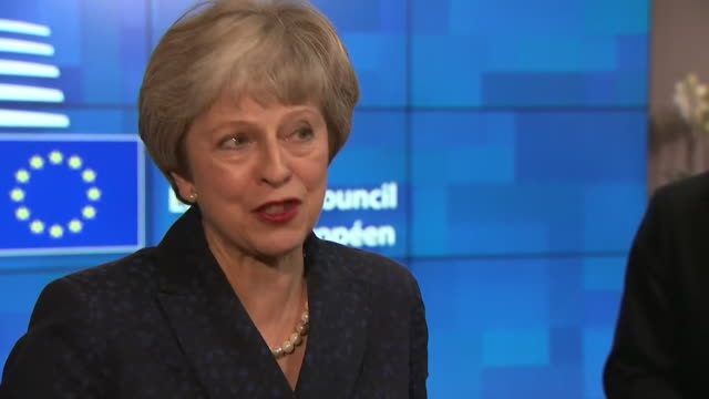 Theresa May PM says 'The UK's positon on the sovereignty of Gibraltar has not changed and will not change I will always stand by Gibraltar'