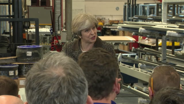 theresa may saying criticism of her plan of an energy cap as not being very conservative can be answered by doing what is right over ideology - cap stock videos & royalty-free footage
