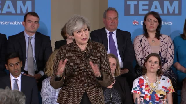 theresa may saying her government wants to bring net migration down to sustainable levels and that once brexit takes place the uk will be able to... - emigration and immigration stock videos & royalty-free footage