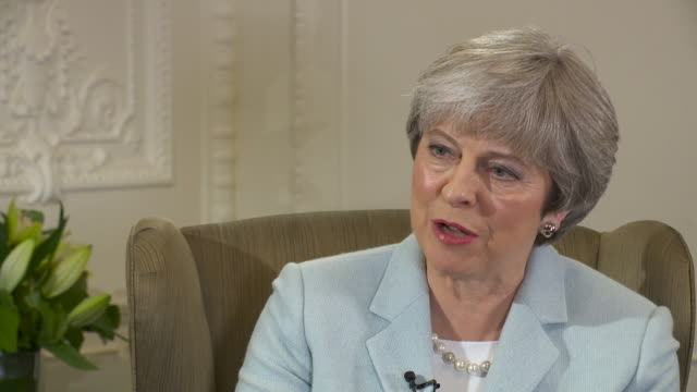 Theresa May saying hospitals have been dealing with winter pressure in different ways and that the dedication of NHS staff is 'important to us all'