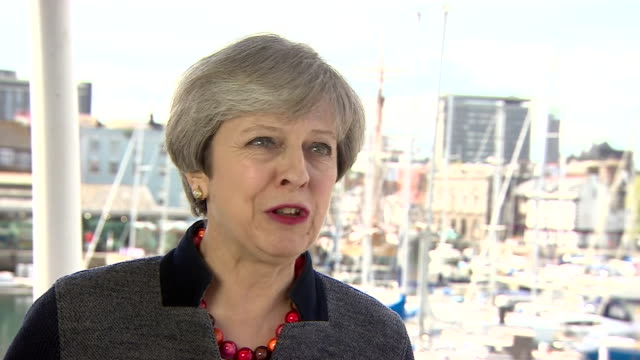 Theresa May saying she doesn't recall the account given of her meeting with Jean Claude Juncker by a German newspaper and dismisses it as 'Brussels...