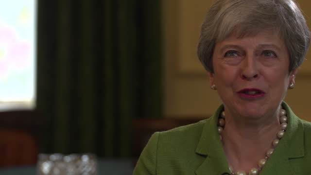 theresa may saying she doesn't regret calling the general election in 2017 but she regrets the way her campaign was done - general election stock videos & royalty-free footage