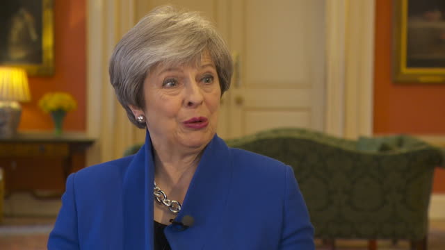Theresa May saying that in one sense Brexit is simple and in another sense it's very complex