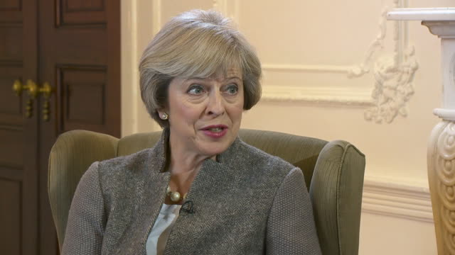 Theresa May saying that the Brexit vote means the British public doesn't want free movement to continue the way that it has done in the past