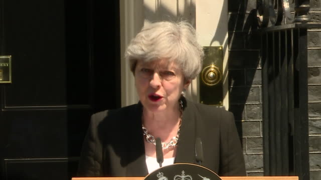 theresa may saying the belief in the union refers not just to the countries of the uk but also the freedom to practice religion in peace in her... - first occurrence stock videos and b-roll footage