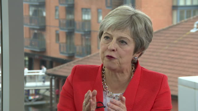 Theresa May saying the Brexit deal offered by the EU would 'isolate Northern Ireland' and explaining why a 'Canadastyle' trade deal would not work in...