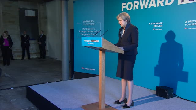 theresa may saying the conservative party manifesto will provide record funding for schools real technical education for young people and the first... - investment stock videos & royalty-free footage
