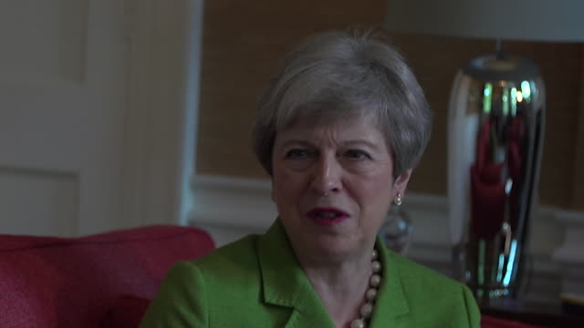 theresa may saying the manchester arena terror attack was her hardest moment as prime minister - manchester arena stock videos & royalty-free footage