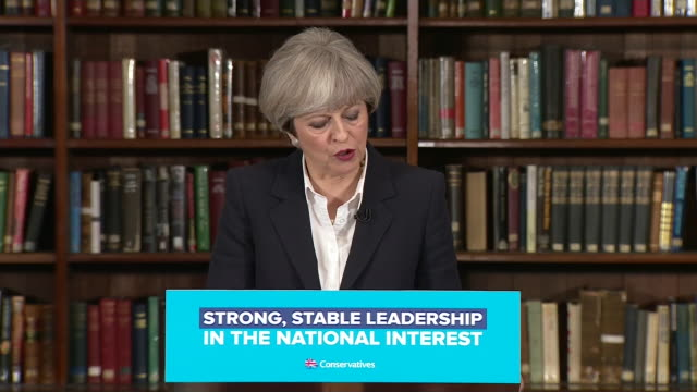 theresa may saying the uk needs to review its counterterrorism strategy due to the changing nature of the threat after the london bridge terror attack - überfahren stock-videos und b-roll-filmmaterial