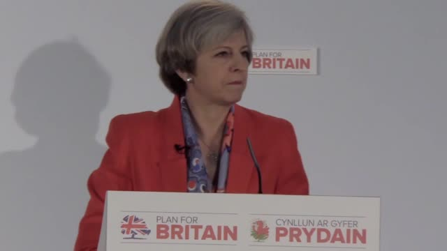 theresa may says she will trigger article 50 within the next two weeks at conservative spring forum in cardiff the countdown to brexit will begin... - article stock videos and b-roll footage