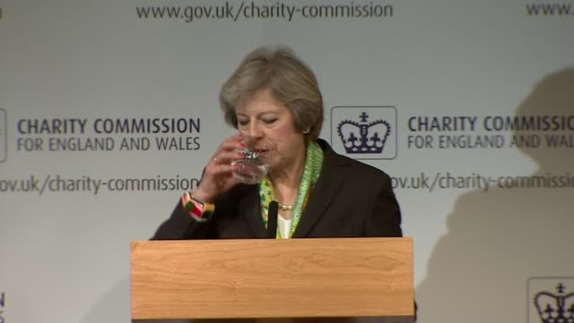 Theresa May speech SOT As I have said these are just the first steps in our plan to transform our approach to mental health in this country Meeting...