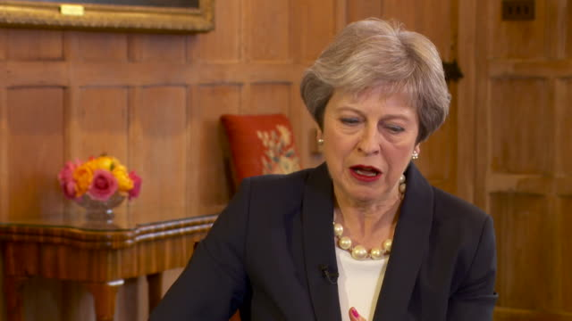 theresa may talking about how much the nhs helped her after she was diagnosed with diabetes - type 1 diabetes stock videos & royalty-free footage