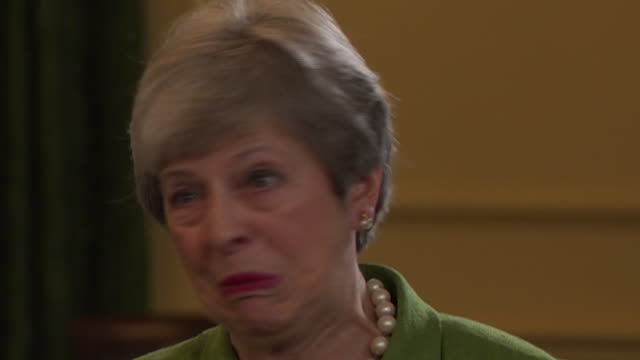 theresa may talking about why some mp's weren't willing to compromise on her brexit deal - famous place stock videos & royalty-free footage
