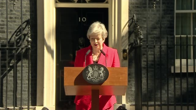 theresa may to resign as conservative party leader may quotes late sir nicholas winton regarding compromise england london downing street ext various... - theresa may stock videos & royalty-free footage
