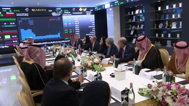 theresa may visit controversy over arms sales and human rights saudi arabia / politics theresa may visit controversy over arms sales and human rights... - prince stock videos and b-roll footage
