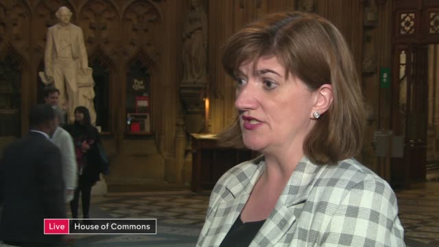 Theresa May's premiership on the brink as cabinet turn on her ENGLAND London Westminster House of Commons lobby Loughborough LIVE interview SOT