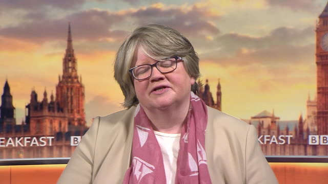 therese coffey saying the government is focusing on universal credit claimants during the coronavirus lockdown - unemployment stock videos & royalty-free footage