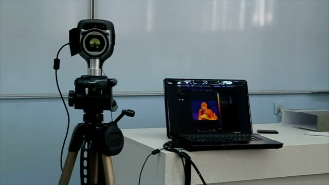 Thermal image recording presentation