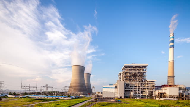 thermal power plant - locomotive stock videos & royalty-free footage