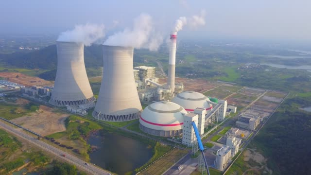 thermal power plant - coal stock videos & royalty-free footage