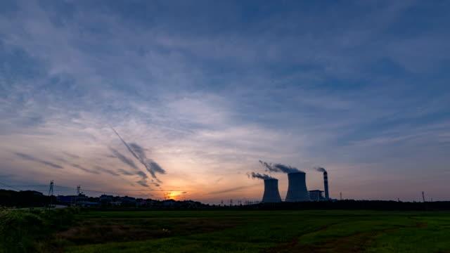 vidéos et rushes de centrale thermo-électrique - centrale nucléaire