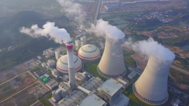 thermal power station - station stock videos & royalty-free footage