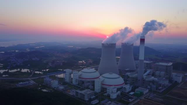 vidéos et rushes de centrale thermique - centrale nucléaire