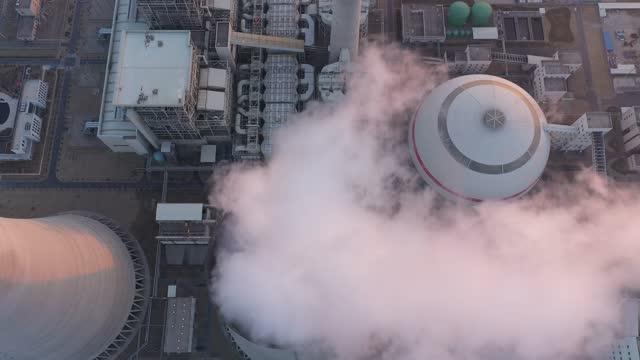 vídeos y material grabado en eventos de stock de central térmica - nuclear energy