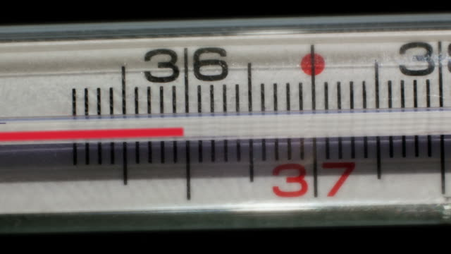 thermometer measures the temperatures rising - thermometer stock videos & royalty-free footage