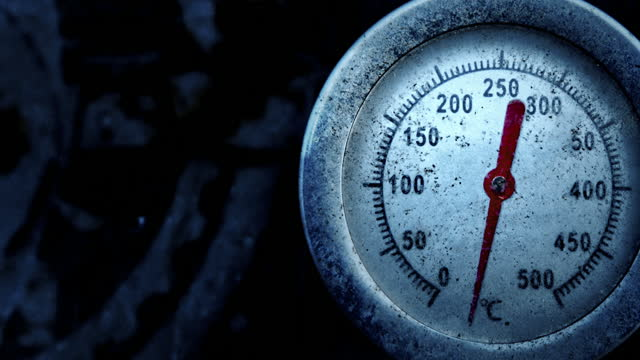 thermometer shows drop in temperature to minus degrees celsius - geographical locations stock videos & royalty-free footage