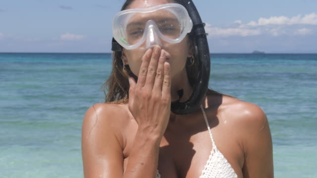 these are for you - aqualung diving equipment stock videos & royalty-free footage