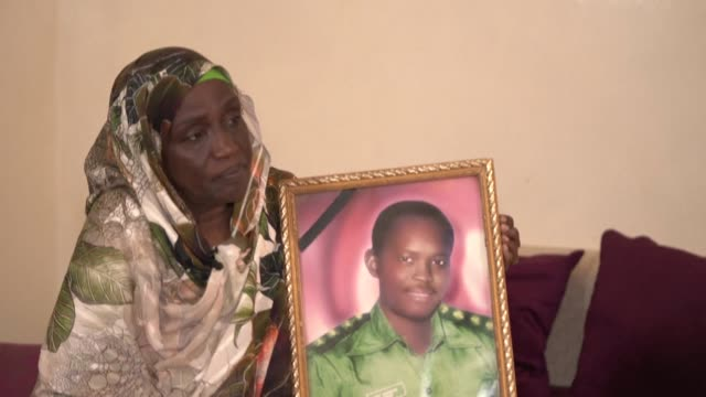 """these people died an abnormal death,"""" says the son of a general among the 28 sudanese army officers involved in a failed coup against former... - früherer stock-videos und b-roll-filmmaterial"""