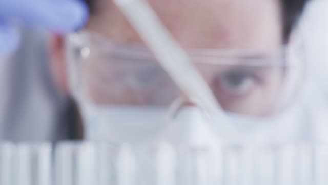 these tests will reveal the truth about this liquid - pipette stock videos & royalty-free footage